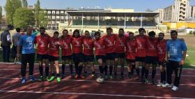 La squadra di rugby a 7 del Cus Sassari