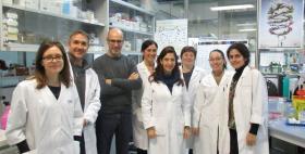 Da sinistra Magda Niegowska, Giuseppe Mameli, Leonardo Sechi, Daniela Paccagnini, Giannina Arru, Elisa caggiu, Vida Eraghi