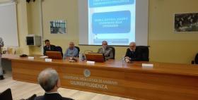 Il generale dell'Esercito Giovanni Domenico Pintus all'Università di Sassari