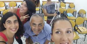 Sono studente anch'io: Claudia Porcu e gli altri attori del video