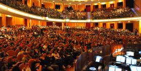 Studenti al Teatro comunale di Sassari