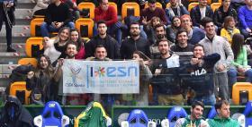 Studenti Uniss Esn Erasmus al PalaSerradimigni