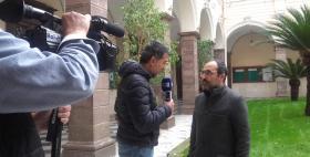 Il Delegato al Pup Emmanuele Farris intervistato dal TgR Rai Sardegna