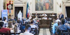 Aula Magna dell'Università di Sassari, 27062017_30 anni di Erasmus