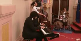 """Il Trio jazz del Conservatorio """"Canepa"""" si esibisce in aula Magna"""