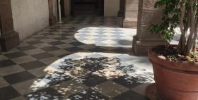 Elaborazione grafica lavori via del Fiore Bianco, Università di Sassari