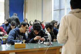 Attività scientifiche Uniss con studenti delle superiori