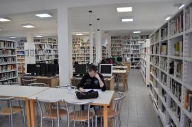 Foto Biblioteca Lettere e Lingue