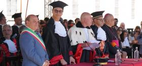 Flavio Manzoni Laurea in Piazza 2019
