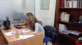 ragazzi in alternanza scuola-lavoro all'Università di Sassari