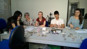 Alternanza scuola-lavoro al laboratorio archeologico Lapras