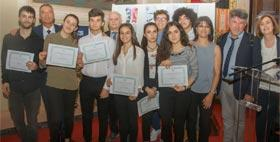 Immagine dei vincitori del premio Farace 2018
