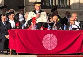 Il saluto del Rettore Massimo Carpinelli