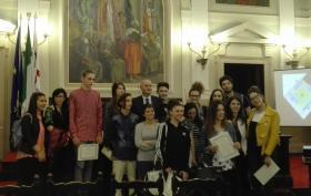 """Studenti partecipanti al premio """"Francesco Farace 2016"""""""