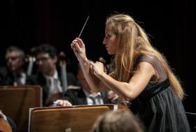 Immagine del Maestro Beatrice Venezi (foto di Marco Borrelli)