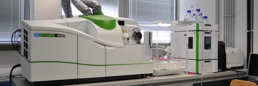 Spettrometro di massa a plasma accoppiato induttivamente.