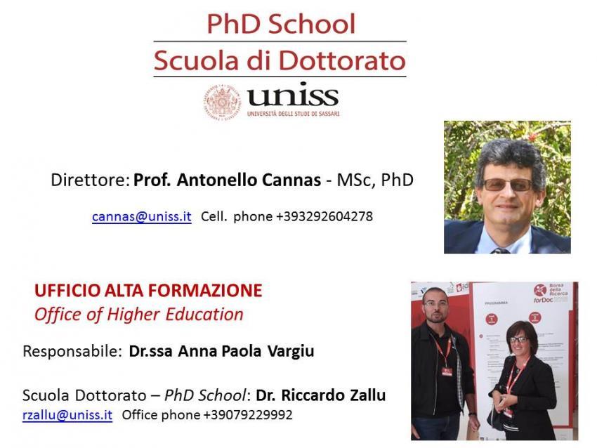 Scuola - PhD School
