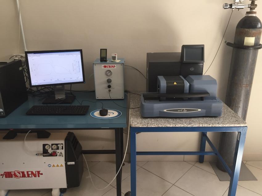 Termoanalizzatore Differenziale Simultaneo DTA-TG-DSC (TA SDT Q600)