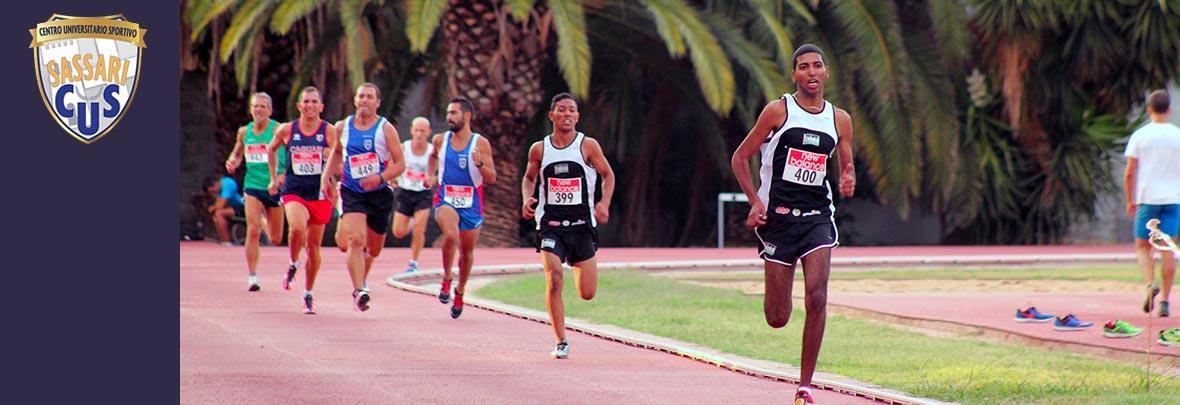 Immagine atleti in gara